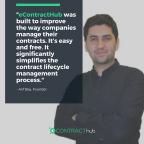 Image of eContractHub's founder, Arif Bay